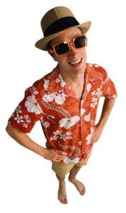 Cologne Guy in Hawaiian Shirt