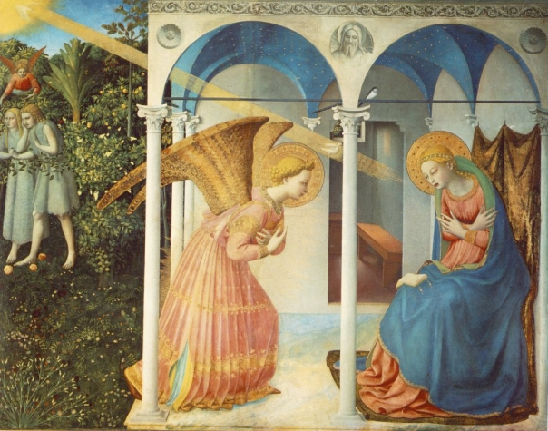 The Annuciation by Fra Angelico