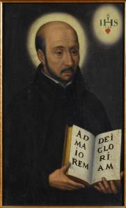 "St. Ignatius of Loyola gave Jesuits 2 mottos: ""for the greater glory of God"" and ""sinners yet called"""