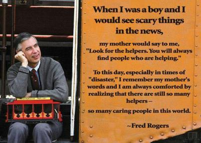The wisdom of Mr. Rogers