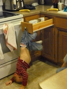 Stuck in drawer