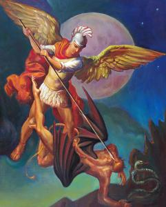 St. Michael the Archangel - Head of the Original Secret Service