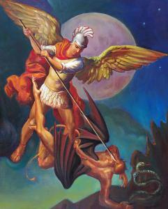 St. Michael the Archangel - Head of the Original Secret Service